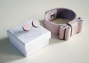 Sady šperkov - Kožený set - 7472421_