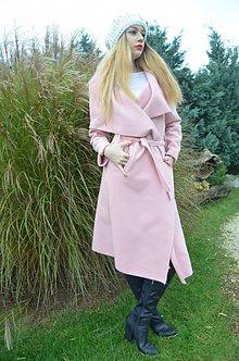 Kabáty - kabátik púder flaush - 7471511_
