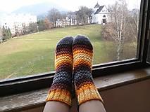 Obuv - Ponožky farebné - 7469743_