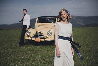 Šaty - svadobné šatky pre sl.K - 7474163_