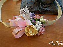 Náramky - svadobný náramok pre družičky I. - 7471990_