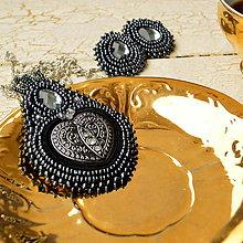 Sady šperkov - Voyage en Arabie  - black silver - sada šperků - 7469339_
