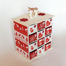 Dekorácie - Adventný kalendár - 7469230_