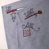 Úžitkový textil - ŠKODNÁ v KUCHYNI - prostírání - 7469206_