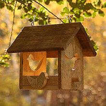 Pre zvieratká - Krmítko pre vtáčiky - 7469371_
