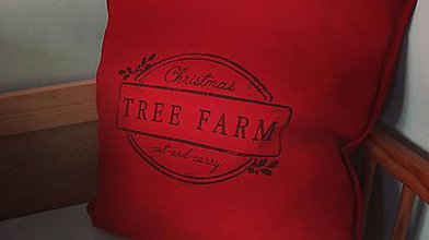 Úžitkový textil - Vianočná obliečka - 7472851_