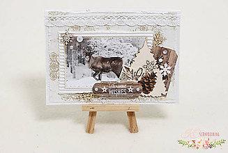 Papiernictvo - Vianočná pohľadnica IV - 7478082_