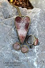Sady šperkov - Arttexová sada šperkov