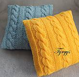 Úžitkový textil - Vankúšik žltý - 7477443_