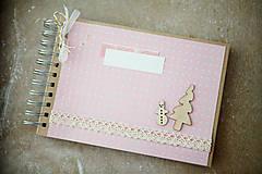 Papiernictvo - Moje prvé Vianoce / fotoalbum - 7476114_
