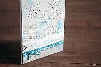 Papiernictvo - Vianočná pohľadnica - Veselé Vianoce II. - 7475453_