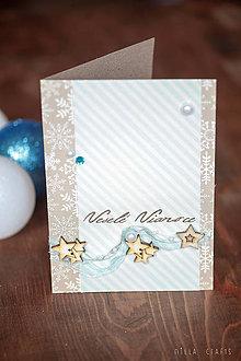 Papiernictvo - Vianočná pohľadnica - Veselé Vianoce III. - 7475719_