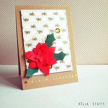 Papiernictvo - Vianočná pohľadnica - Veselé Vianoce IV. - 7476994_