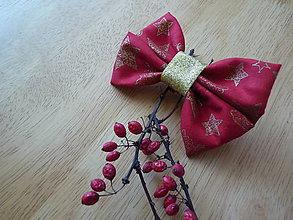 Detské doplnky - Vianočná spona - 7478694_