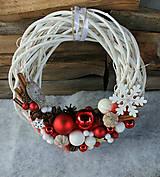 Dekorácie - Venček na dvere_ vianočný - 7474383_