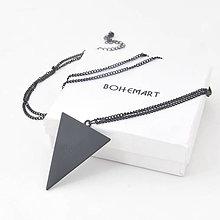 Náhrdelníky - Náhrdelník Triangle - 7476645_