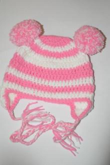 Detské čiapky - Háčkovaná čiapočka - 7478226_
