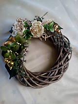 Dekorácie - Vianočný veniec - 7474962_