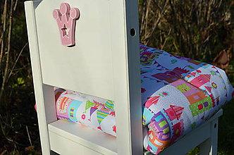 Textil - Zámky pre princeznú - 7475167_