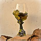 Nádoby - Vo víne je pravda - pohár na červené víno - 7477238_