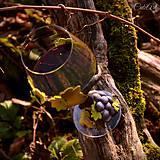 Nádoby - Vo víne je pravda - pohár na červené víno - 7477251_