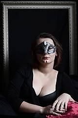Iné šperky - Maska - Mesačný kameň - 7474461_