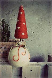 Dekorácie - Vianočný stromček - 7475677_