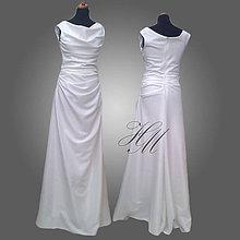 Šaty - Svadobné šaty dlhé - 7474616_