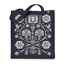 Nákupné tašky - Taška Klinčeky sivá - 7478798_