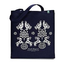 Nákupné tašky - Taška Hranovnica modrá - 7478874_