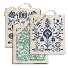 Nákupné tašky - Tri čarovné tašky - svetlé - 7479093_