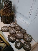 Dekorácie - Sada drevených plátov - sivá - 7482573_