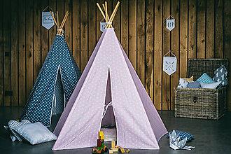 Textil - Týpi Ružové nebo - 7484391_