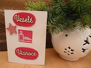 Papiernictvo - Vianočný pozdrav - veselé vianoce - 7480210_
