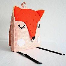 Detské tašky - RUKSAK líška oranžový 2,5r. - 7483658_