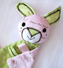 Hračky - Mojkáčik zajko - Zajko z Ďatelinkového brlôžka - 7483747_