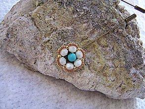 Iné šperky - ihlica na sveter...sako...šál.... - 7482120_