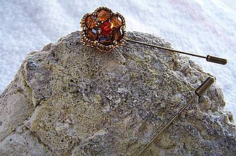 Iné šperky - ihlica na sveter..sako...šál - 7482150_