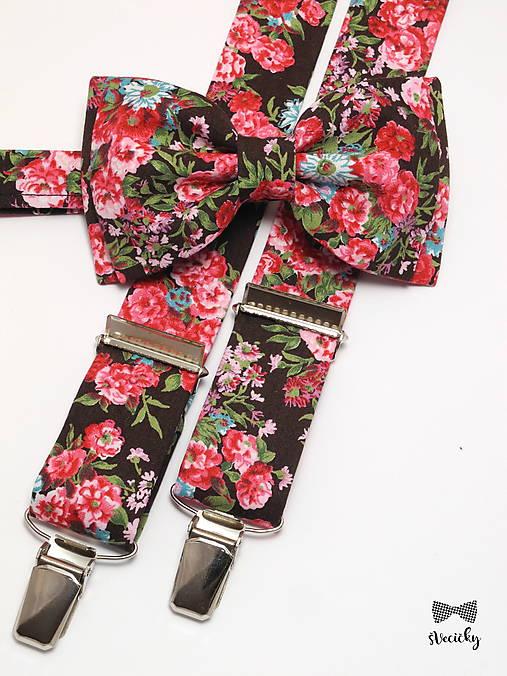 82199a41e Pánsky motýlik a traky Hnedý princ / Katikaaa - SAShE.sk - Handmade ...