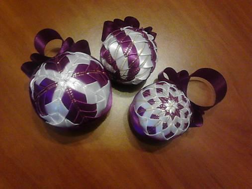 0c6dd96b5 Vianočné gule patchwork / TatianaStano - SAShE.sk - Handmade Dekorácie