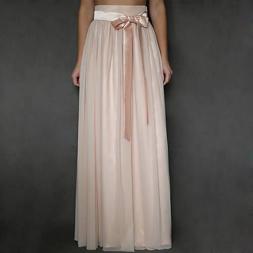 Tylová sukňa z kvalitného elastického mäkkého tylu rôzne farby