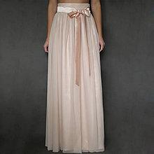 Sukne - Tylová sukňa z kvalitného elastického mäkkého tylu rôzne farby - 7480718_