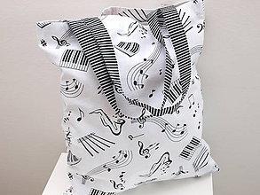 Nákupné tašky - ...pre hudobníčku.... - 7480150_