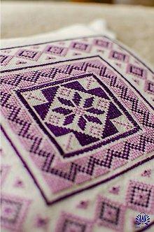 Úžitkový textil - vyšívaná obliečka na vankúš - 7480482_