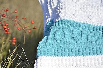 Textil - Detská deka Love bambule - 7485535_
