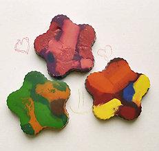 Hračky - Dúhové voskovky pre najmenších  3ks - 7489023_
