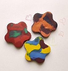 Hračky - Dúhové voskovky pre najmenších 3ks - 7489053_