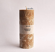 Svietidlá a sviečky - Orechová sviečka Ø55 - 7489837_