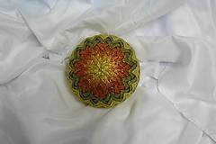 Dekorácie - Vianočná guľa-patchwork - 7485951_