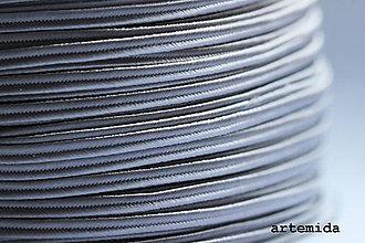Galantéria - sutaška sivá P012 - 7489629_